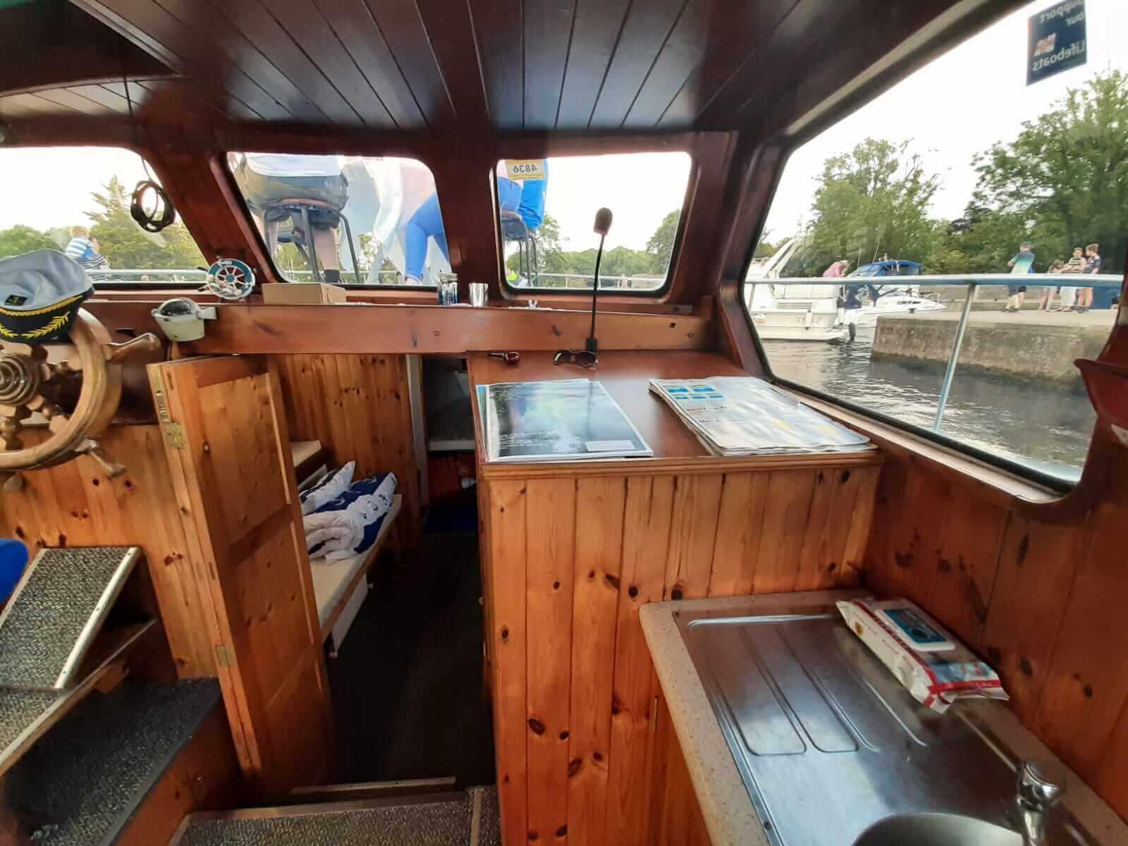 Cruiser Boats Ireland - Shannon Boat Rental 27